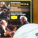 カラヤンとワイセンベルクの、ラフマニノフピアノ協奏曲(1)