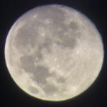 七夕の月を天体望遠鏡で撮ってみた…