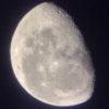昨夜の月の写真と、トーヨータイヤのアノ動画と…
