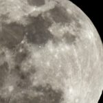 元日早々に満月のぼる2018年。しかもスーパームーン。もちろん、撮った…