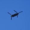 自衛隊の輸送ヘリが、うちの真上を飛んでいた。そうだ、僕はあれに乗ったことがあるのだった…