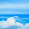 実に久し振りに歌詞の対訳を載せてみて、ここで雑感を。猛暑の日の、遠く青い空を眺めながら…