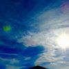 冬の空に見たものをまた幾つか。ジェット機やら、あとは何か正体不明と思われた物も…