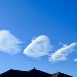 青空に雲のひよこがピヨピヨ(?)。あと、「2019年 お年玉問題」の僕なりの答えを発表しておこうと思うのだ…