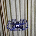 トイドローンは、凧のようなものだなあ。糸ではなく、電波で繋がった凧なのだ…
