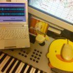 巨匠・冨田勲先生が創られた音楽データを、僕のシンセサイザーでこんな具合に鳴らしてみたのだ…