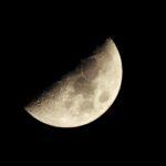 連日、天気が良いので月を定点観測。あと、NHK-FMのあの番組でリクエストを読んでもらったのだ…【追記3つあり】