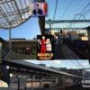 今日の千住大橋駅と血圧