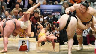 相撲の決まり手にはなかったはずの内股を豪快に決められた遠藤、これまた珍しい波離間投げをくらった竜電、ともに現相撲界屈指のパフォーマーである
