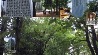 今日の戸山公園と血圧