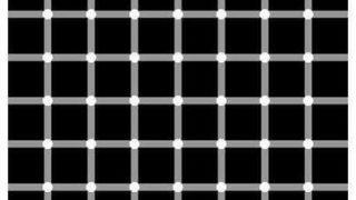 これを見て黒い点がちらついたらストレスが高いらしい