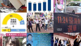香港区議選、民主派が452議席中385議席獲得し親中派を圧倒、確定投票率71.2%、これらからわかることは何か