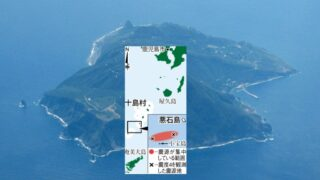 吐噶喇列島で90回超の地震、今後も続く可能性、海底地形が影響か、専門家は横ずれ断層型と分析