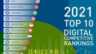 台湾のデジタル競争力、世界8位 初のトップ10入り